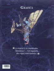 Le neptune t.4 ; cauchemar - 4ème de couverture - Format classique