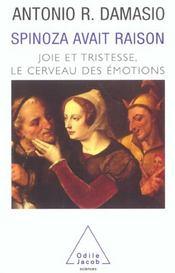 Spinoza Avait Raison - Intérieur - Format classique