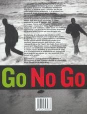 Go No Go - 4ème de couverture - Format classique