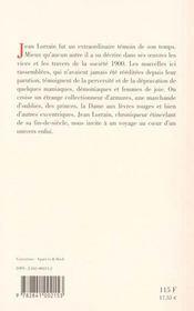 Dame aux levres rouges - 4ème de couverture - Format classique
