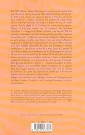 Avenue de carthage - 4ème de couverture - Format classique