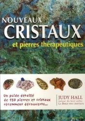 Nouveaux Cristaux Et Pierres Therapeutiques - Couverture - Format classique