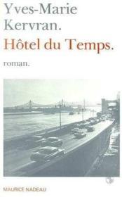 Hotel du temps - Couverture - Format classique