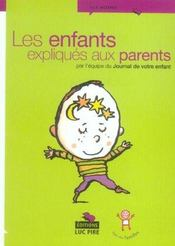 Les Enfants Expliques Aux Parents - Intérieur - Format classique