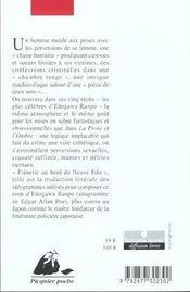 La chambre rouge - 4ème de couverture - Format classique