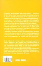 Toponymie gasconne - 4ème de couverture - Format classique