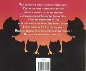 Le Chat Illustre De A A Z - 4ème de couverture - Format classique