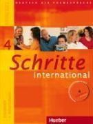 Schritte international 4. Kursbuch + Arbeitsbuch mit Audio-CD zum Arbeitsbuch und interaktiven Übungen - Couverture - Format classique