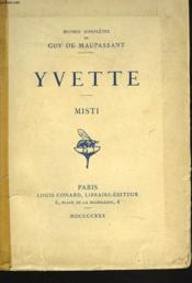Yvette. Misti. - Couverture - Format classique