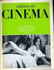 Cahiers Du Cinema N° 215 - S. M. Eisenstein - Abraham Plonsky - Ingmar Bergman - Berlin - Couverture - Format classique