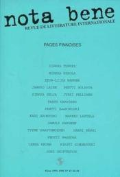 Nota Bene N 47-48-49 - Couverture - Format classique