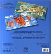L'univers animé du corps humain - 4ème de couverture - Format classique