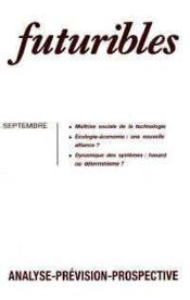 Futuribles N.157 Septembre 1991 - Couverture - Format classique