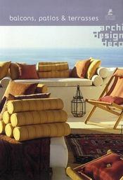 Blacons, patios & terrasses - Intérieur - Format classique