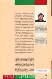 Vocations D'Ancien Regime. Les Gens D'Eglise En Auvergne Aux 17e Et 1 8e Siecles - 4ème de couverture - Format classique