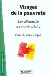 Visages De La Pauvrete -Don Alimentaire Et Precarite Urbaine - Intérieur - Format classique