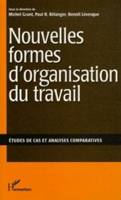 Nouvelles formes d'organisation du travail ; études de cas et analyses comparatives - Couverture - Format classique
