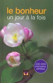Un Jour A La Fois ; Le Bonheur - Intérieur - Format classique