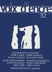 Revue Voix D'Encre N.32 - Intérieur - Format classique