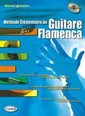Méthode élémentaire de guitare flamenca - Couverture - Format classique