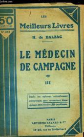 Le Medecin De Campagne - Tome 3 - Couverture - Format classique