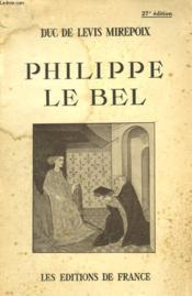 Philippe Le Bel - Couverture - Format classique