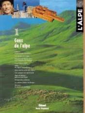 L'Alpe 01 - Gens De L'Alpe - Couverture - Format classique
