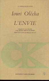 Envie (L') - Couverture - Format classique