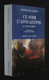 Ce Soir L'Apocalypse - Couverture - Format classique