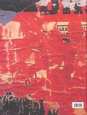 Politique ; catalogue thématique des affiches - 4ème de couverture - Format classique