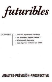 Futuribles N.158 Octobre 1991 - Couverture - Format classique