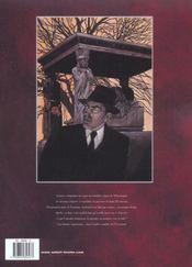 Les nouvelles aventures de Carland Cross t.1 ; l'ombre de l'éventreur - 4ème de couverture - Format classique