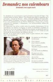 Le Petit Livre Des Exquis Mots - 4ème de couverture - Format classique