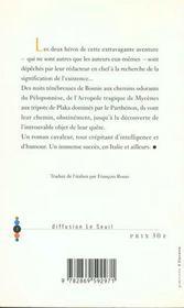 Signification De L'Existence (La) - 4ème de couverture - Format classique