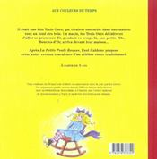 Trois Ours (Les) - 4ème de couverture - Format classique