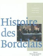 Histoire des bordelais (2 vol. ss coffret) - Couverture - Format classique