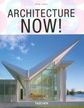 Architecture now - Couverture - Format classique