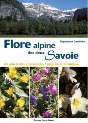 Flore Alpine Des Deux Savoie - Couverture - Format classique
