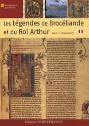 Les légendes brocéliande et du roi Arthur - Couverture - Format classique