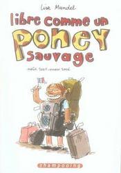 Libre comme un poney sauvage t.1 ; aout 2005 - mars 2006 - Intérieur - Format classique