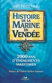 Histoire de la marine en Vendée - Couverture - Format classique