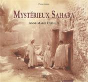 Mysterieux Sahara - Couverture - Format classique