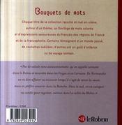 Ripaille et marmitons ; mots de la table - 4ème de couverture - Format classique