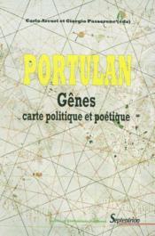 Portulan ; Genes, Carte Politique Et Poetique - Couverture - Format classique
