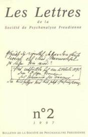 Revue Les Lettres De La Spf N2 1997 - Formation Du Psychanalyste - Couverture - Format classique