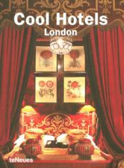 Cool hotels London - Couverture - Format classique