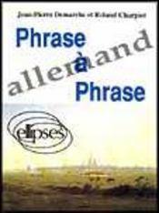 Phrase A Phrase Allemand - Intérieur - Format classique