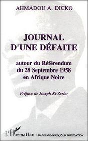 Journal d'une défaite - Intérieur - Format classique