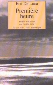 Premiere Heure - Intérieur - Format classique
