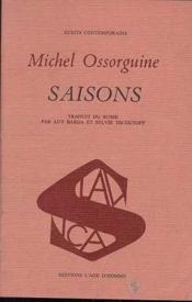 Saisons - Couverture - Format classique